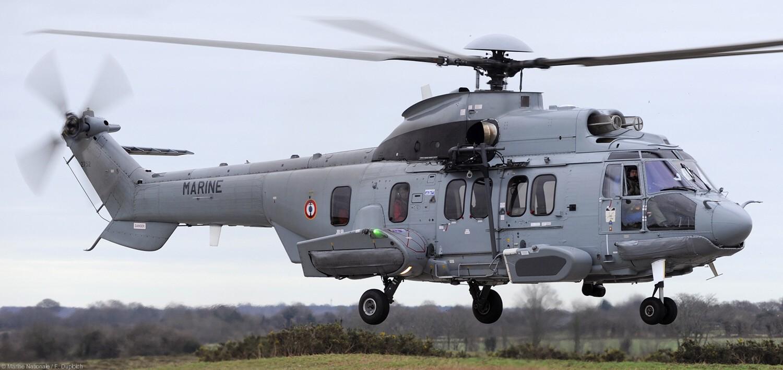 Alicia Abolladura Leyenda  EC225 Super Puma EC725 Caracal Helicopter French Navy Marine