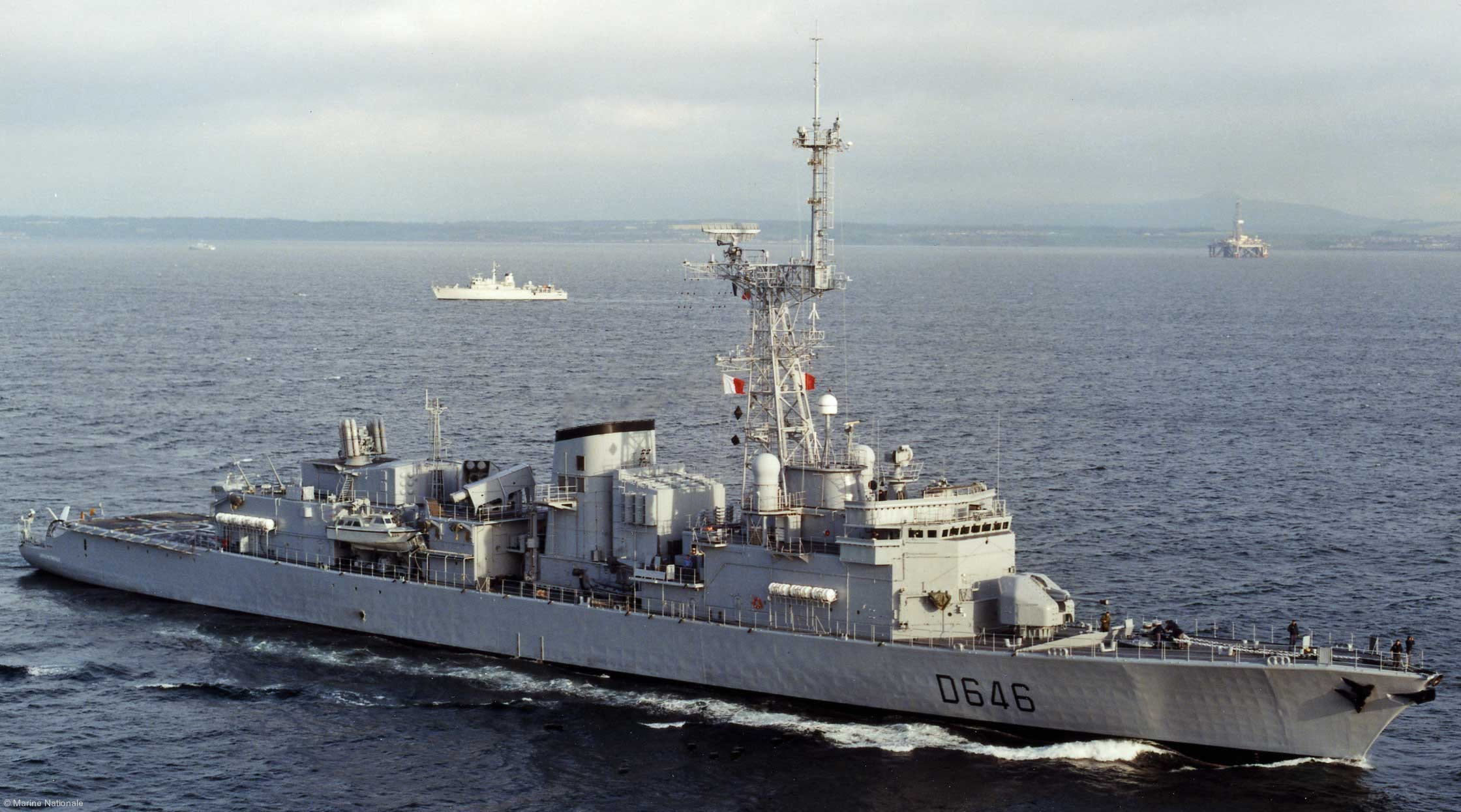 FS Latouche Treville D-646 Frigate F70AS French Navy Marine Nationale