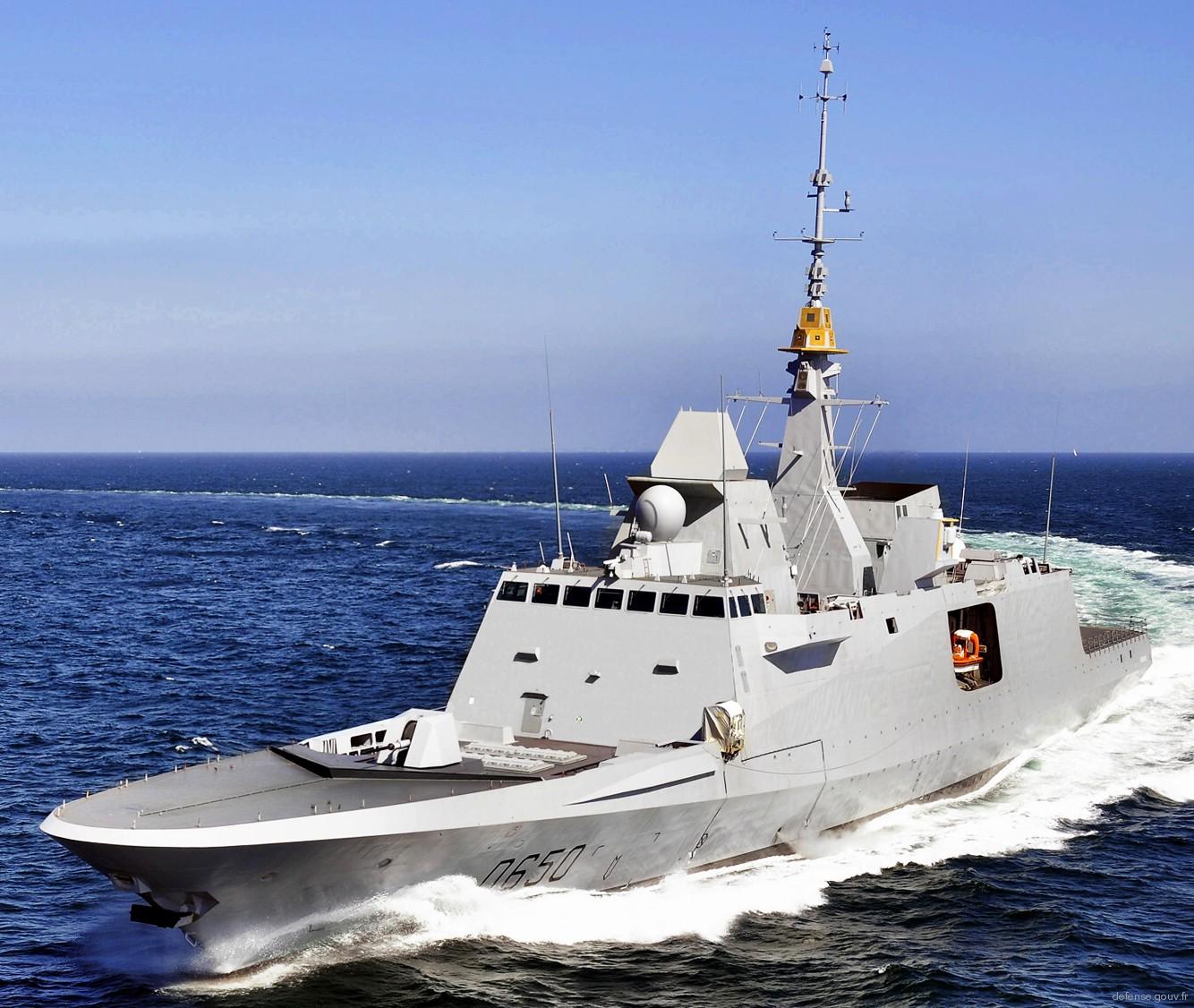 Aquitaine class FREMM Frigate French Navy Marine Nationale
