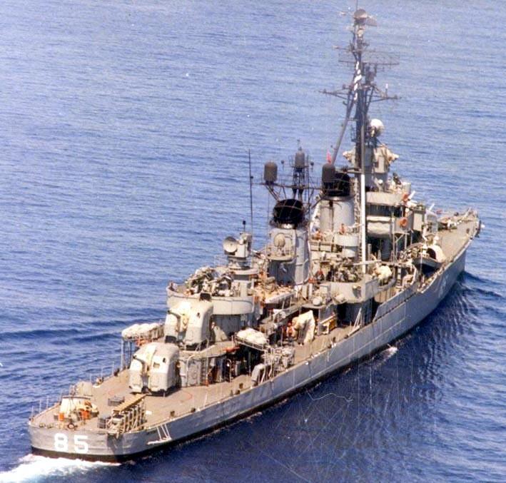 Aspis Fletcher class Destroyer Hellenic Navy