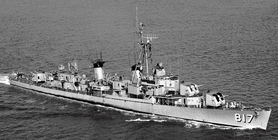 Themistoklis Kanaris Gearing Class Destroyer Fram Hellenic Navy