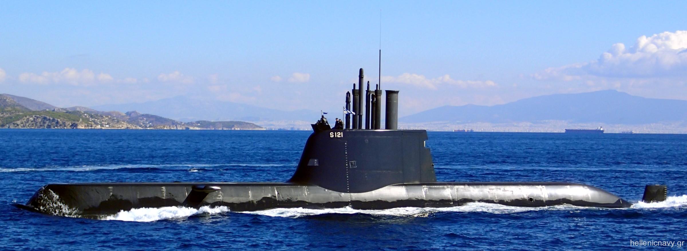 papanikolis class type 214 submarine hellenic navy greece pipinos matrozos  katsonis aip propulsion hdw siemens