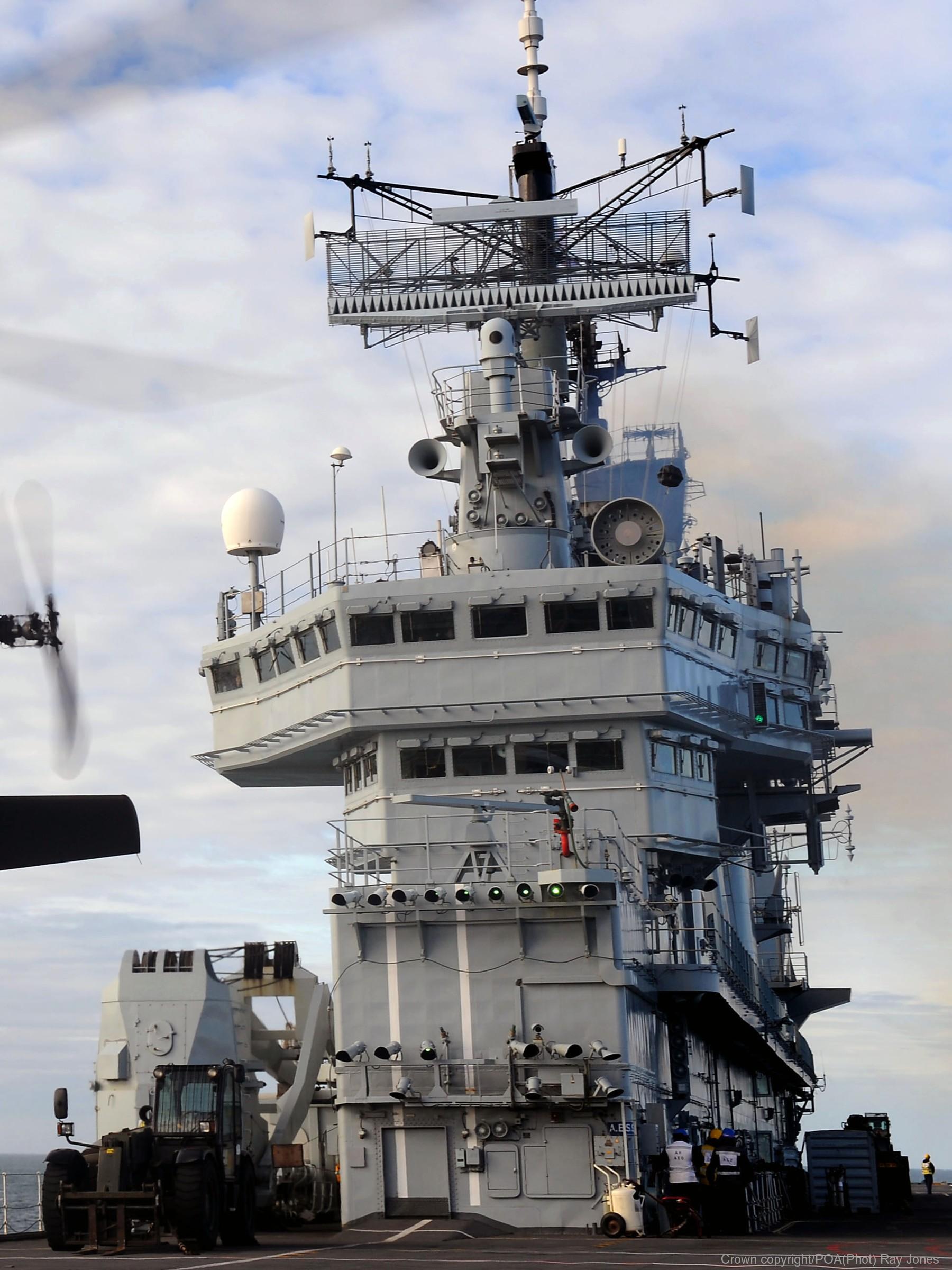 HMS Ark Royal R 07 Invincible class aircraft carrier Navy