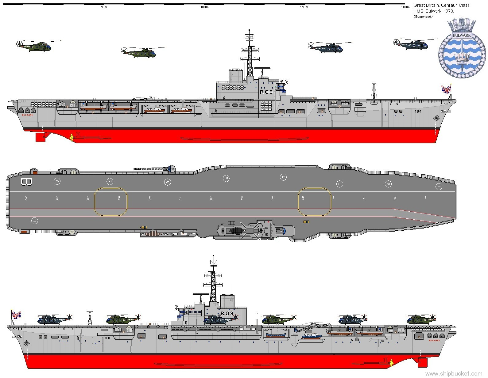 HMS Bulwark (L15) | Royal Navy