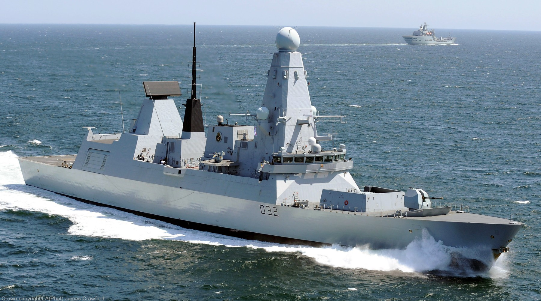 Type 45 Darin class Guided Missile Destroyer Royal Navy