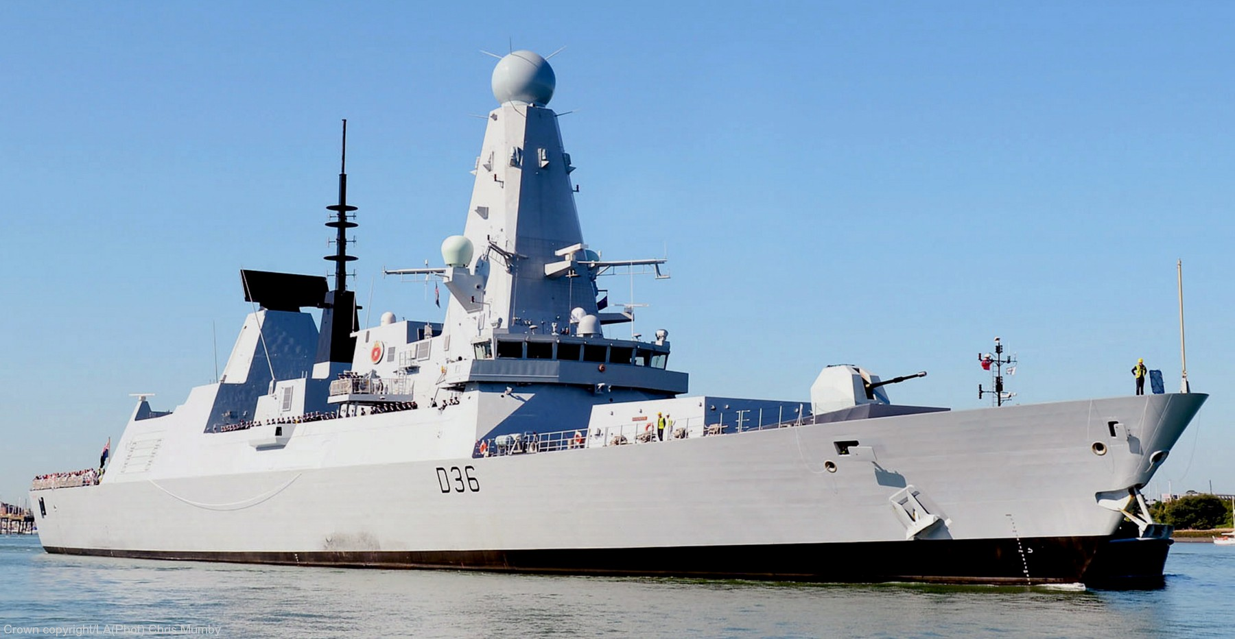 type 45 guided missile destroyer bing images