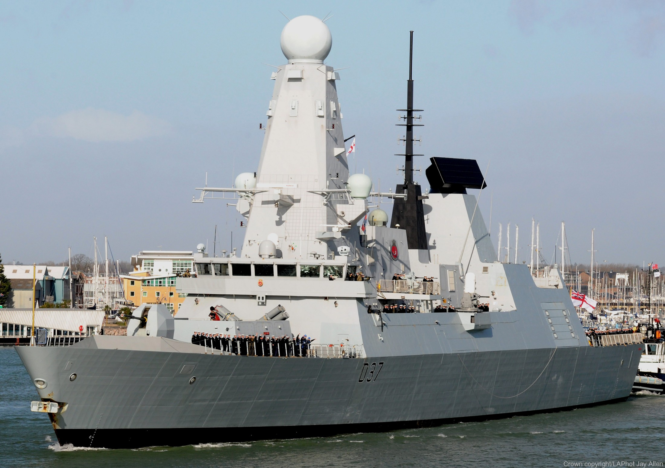 d-37 hms duncan type 45 daring class guided missile destroyer ddg royal navy 02x