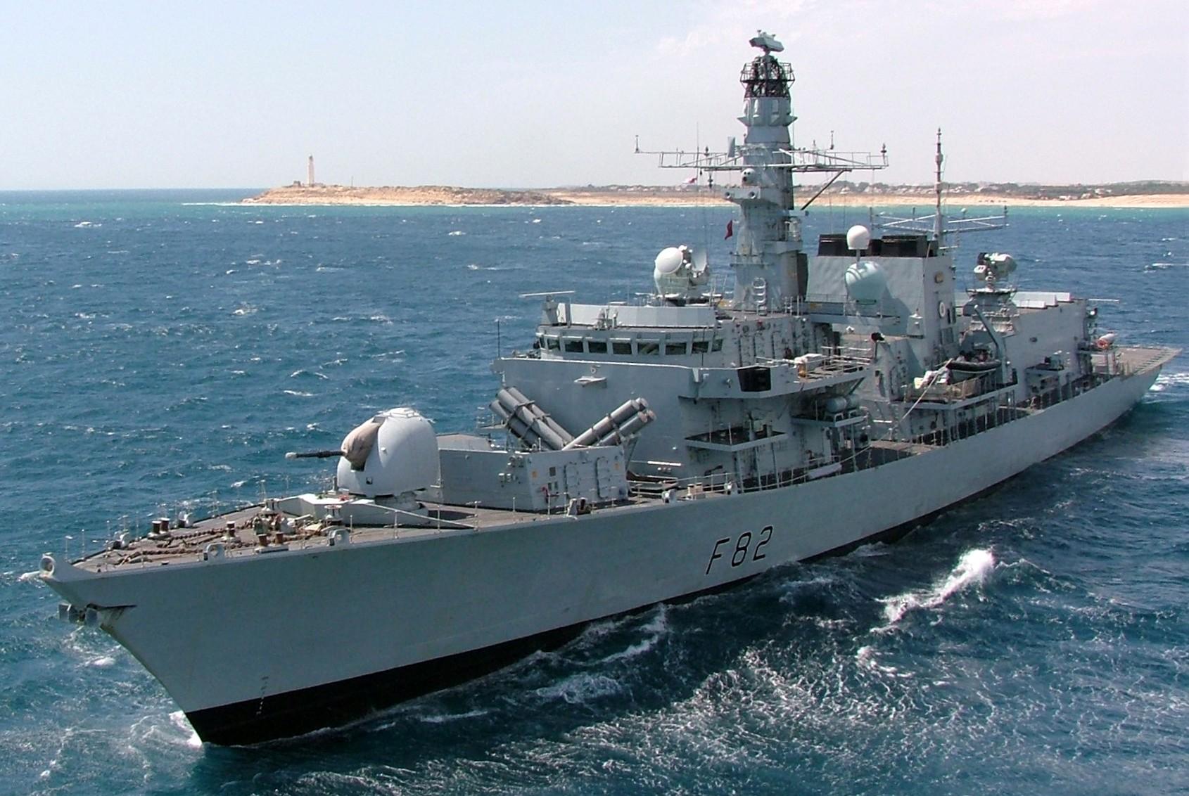 hms somerset f 82 type 23 duke class guided missile frigate royal navy. Black Bedroom Furniture Sets. Home Design Ideas