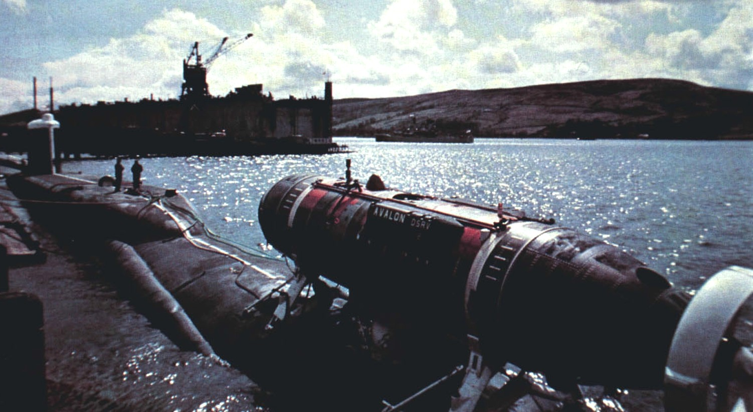 Resolution class Ballistic Missile Submarine SSBN - Royal Navy