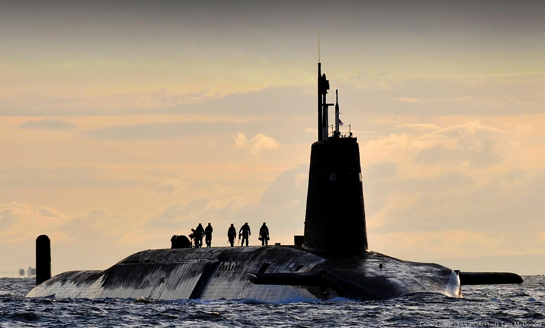 Vanguard class Ballistic Missile Submarine SSBN - Royal Navy