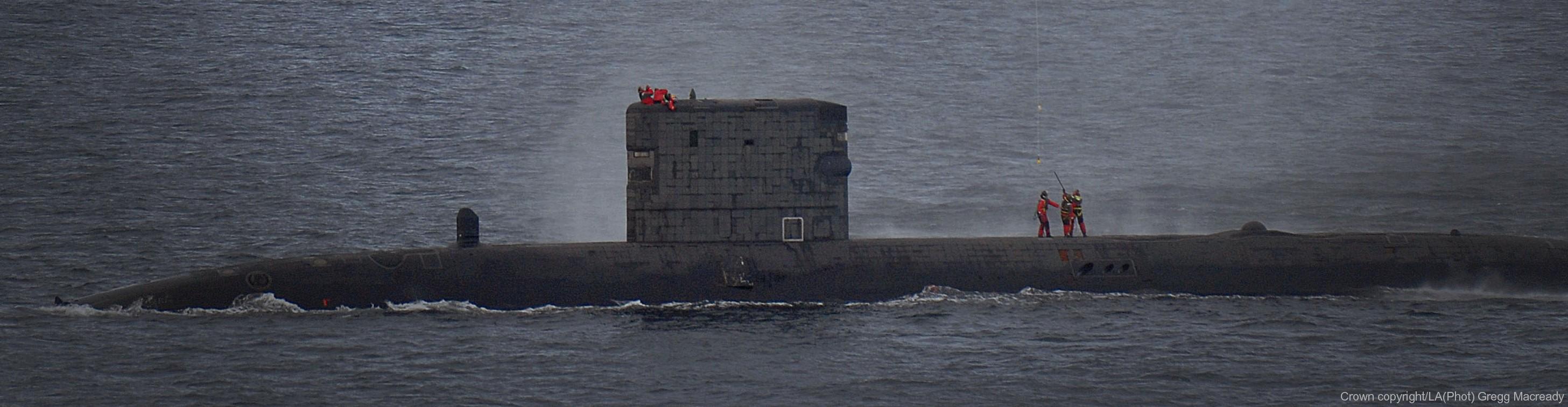 Trafalgar class Attack Submarine SSN - Royal Navy