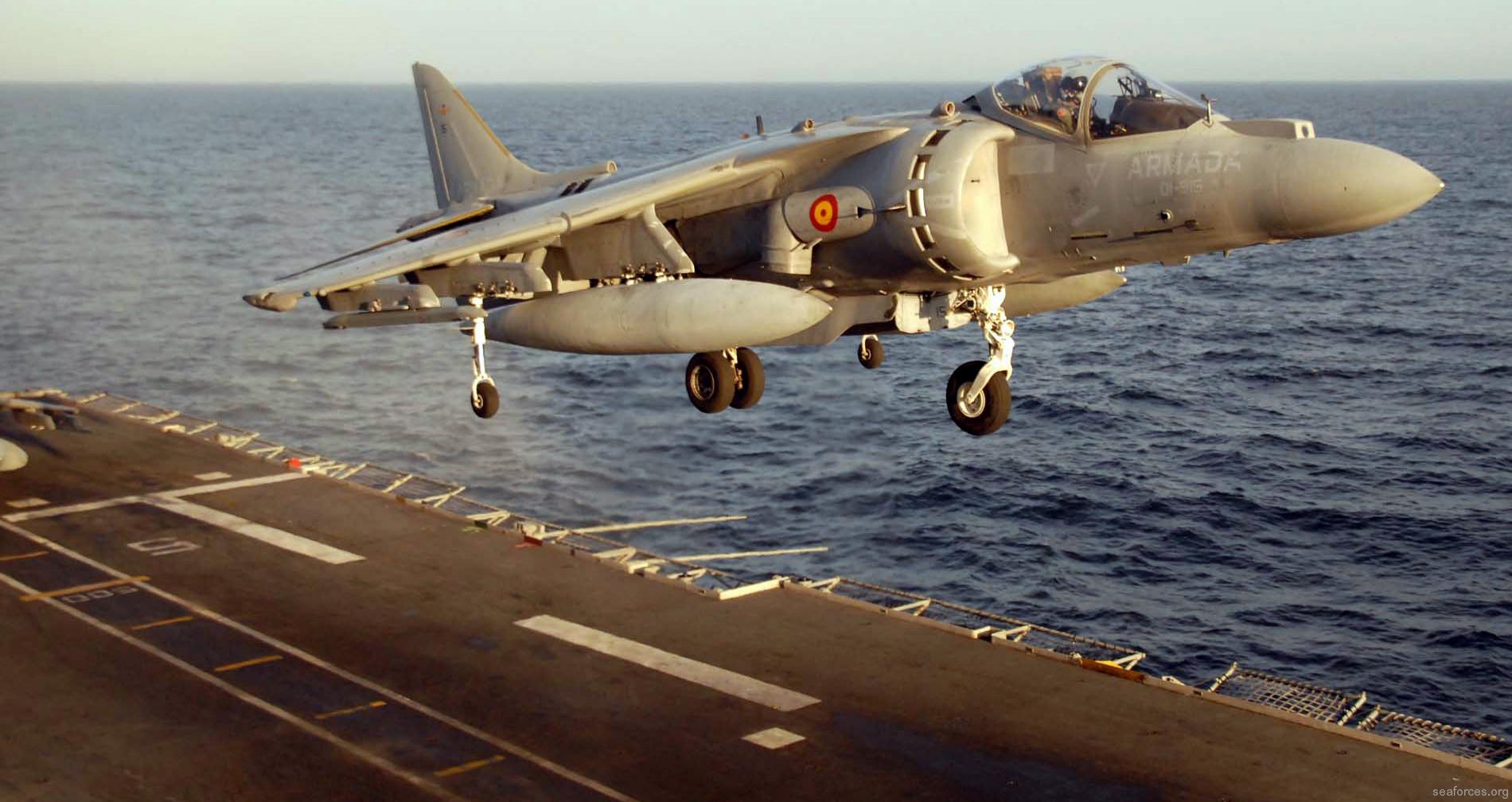 SPS Principe de Asturias R-11 Aircraft Carrier Spanish NavySpanish Aircraft Carrier Principe De Asturias
