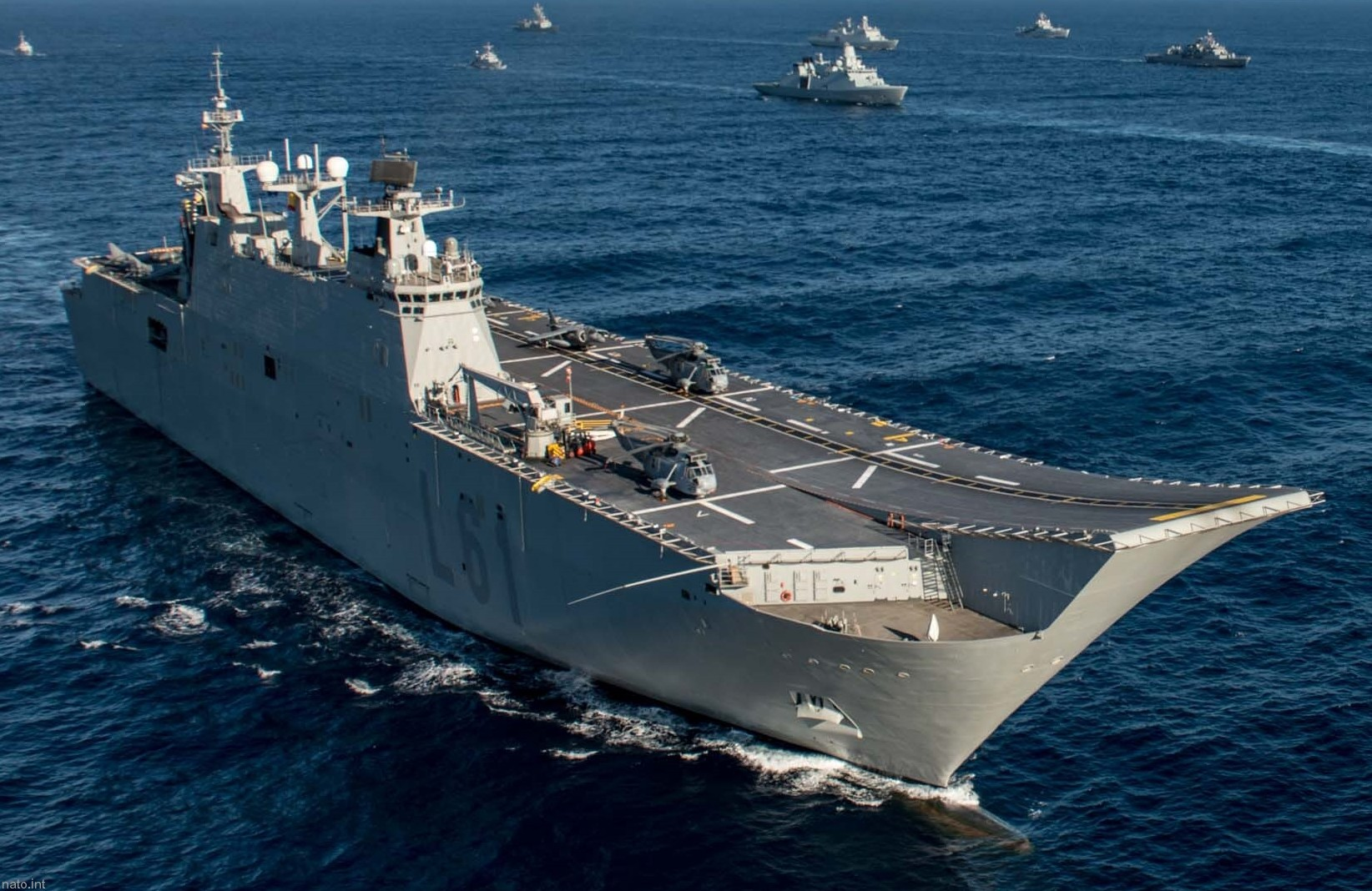 SPS Juan Carlos I L-61 Amphibious Ship Aircraft Carrier