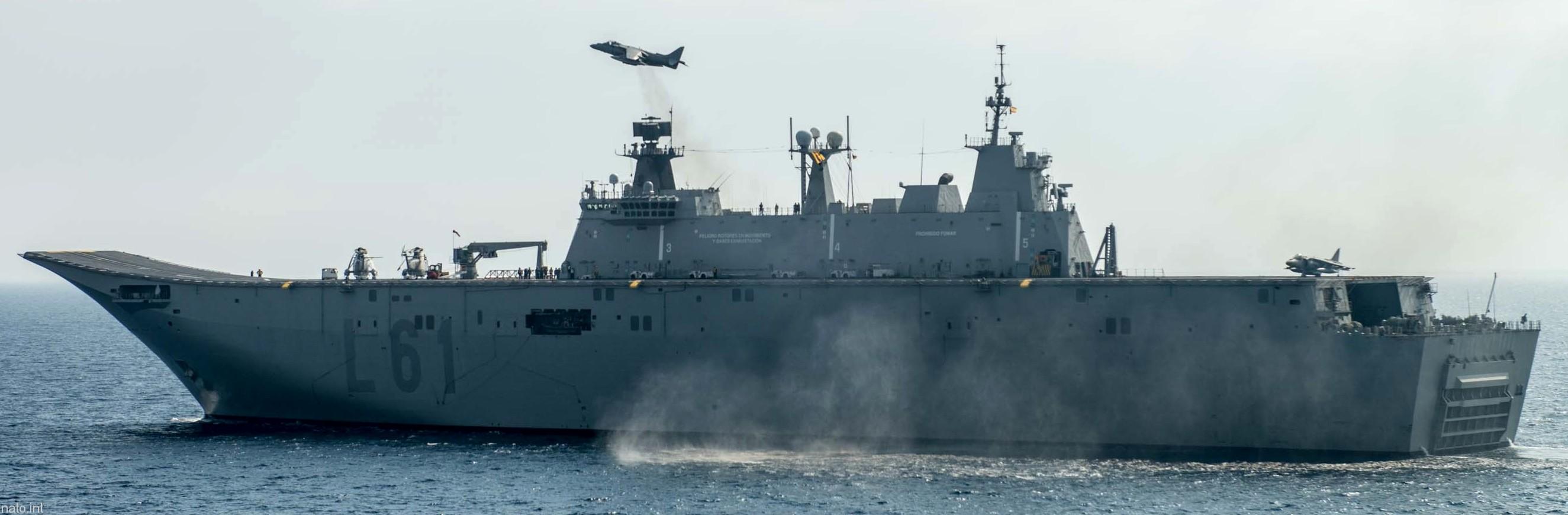 SPS Juan Carlos I L-61 Amphibious Ship Aircraft Carrier ...Spanish Aircraft Carrier Juan Carlos