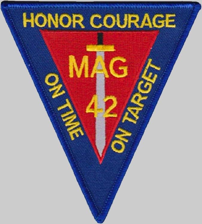 Escort Santa Barbara >> Marine Aircraft Group 42 MAG-42 US Marine Corps USMC