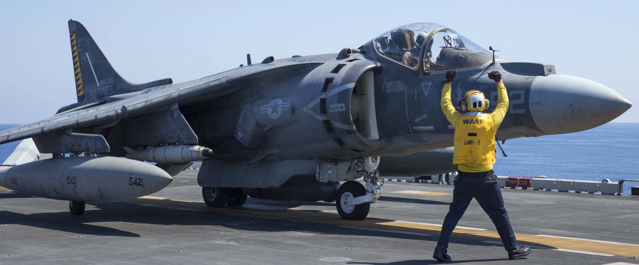vma-542 tigers av-8b harrier us marine corps attack squadron 2016 128