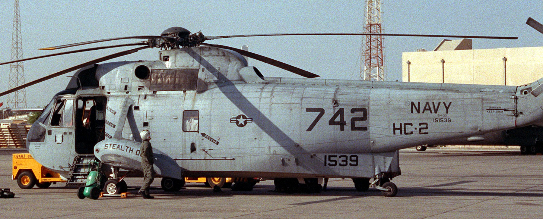 HC-2 Fleet Angels Helicopter Combat Support Squadron US Navy
