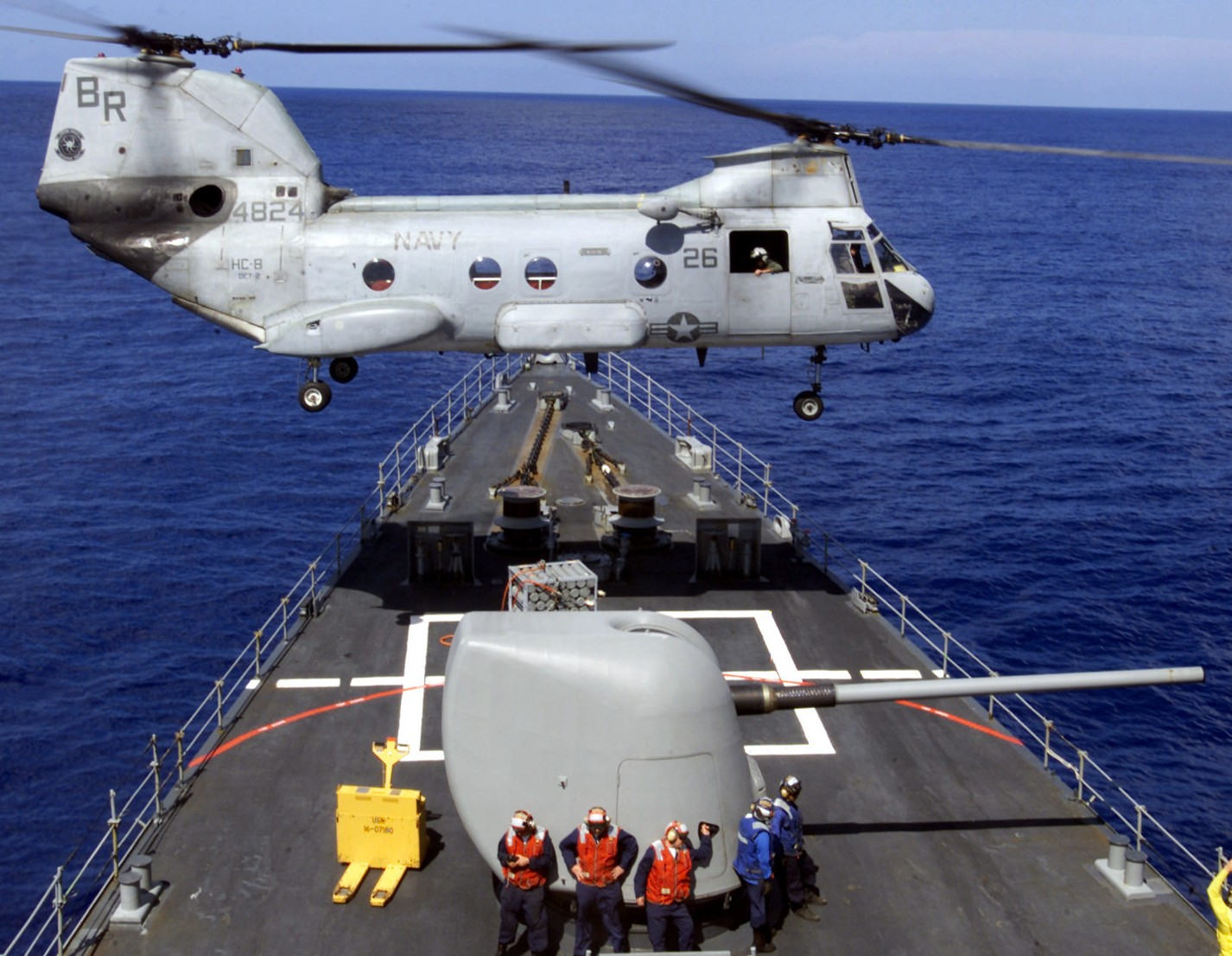HC-8 Dragon Whales Helicopter Combat Support Squadron US Navy