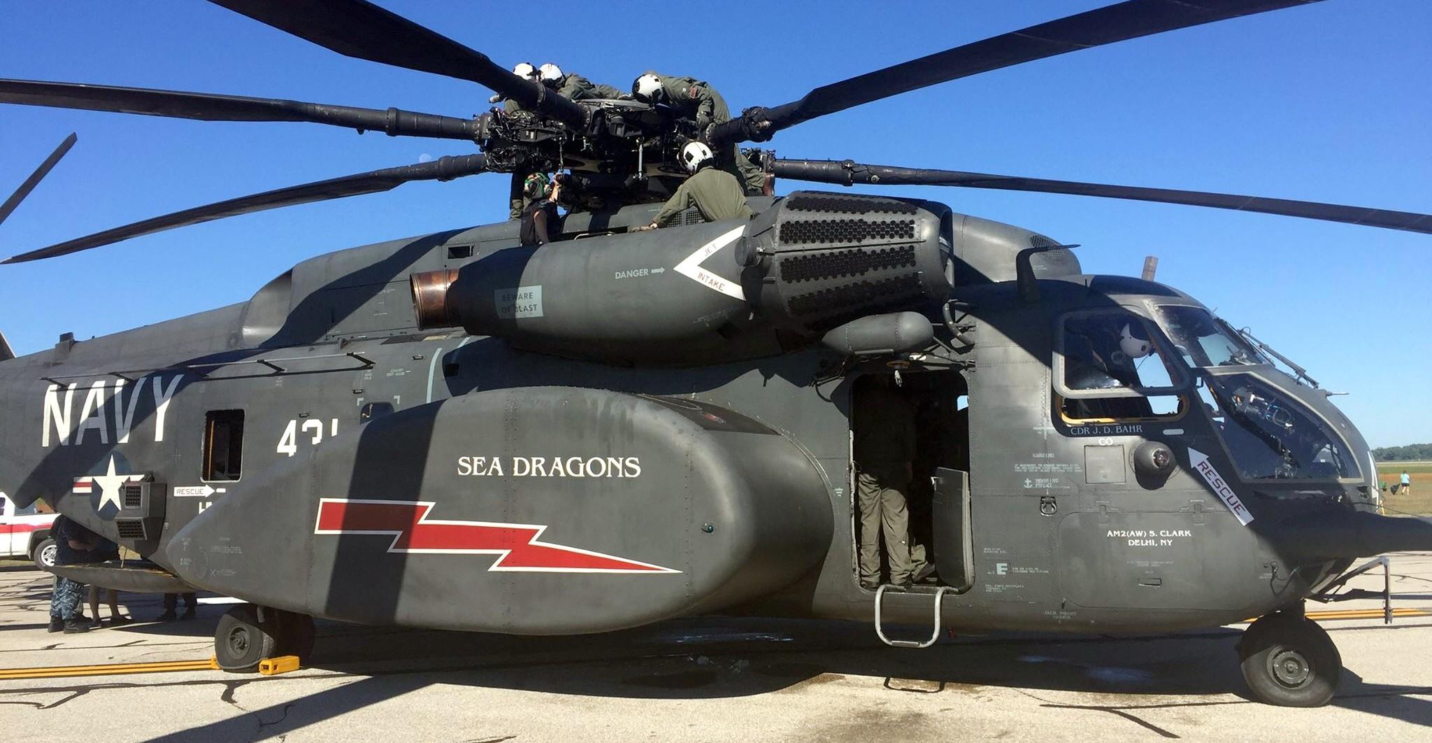 HM-12 Sea Dragons Helicopter Mine Countermeasures Squadron ...