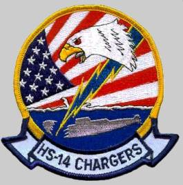 Hs 14 Chargers Helicopter Anti Submarine Squadron