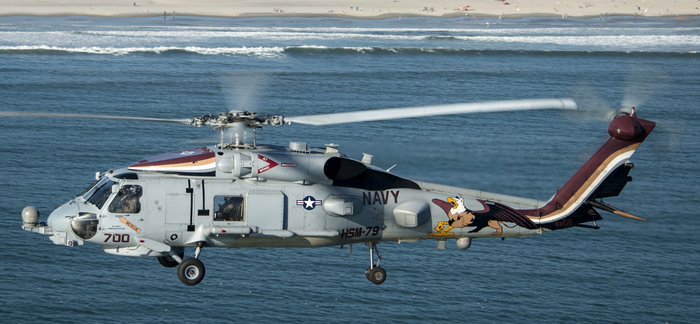 HSM-79 Griffins Helicopter Maritime Strike Squadron US Navy