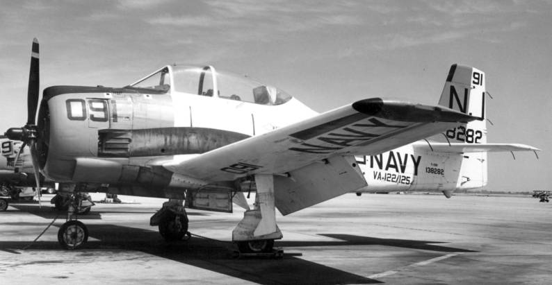 va-125 rough raiders attack squadron atkron