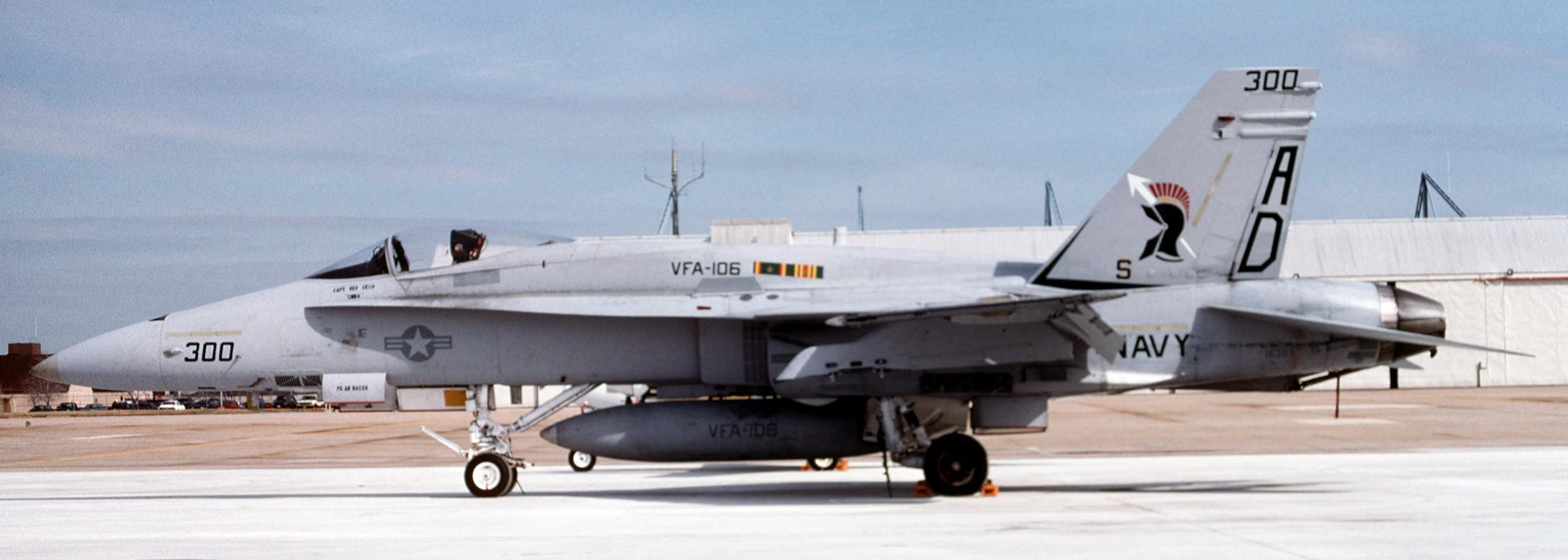 VFA-106 Gladiatoren US Marine F-18 Hornet Strike Kämpfer Geschwader Patch Set