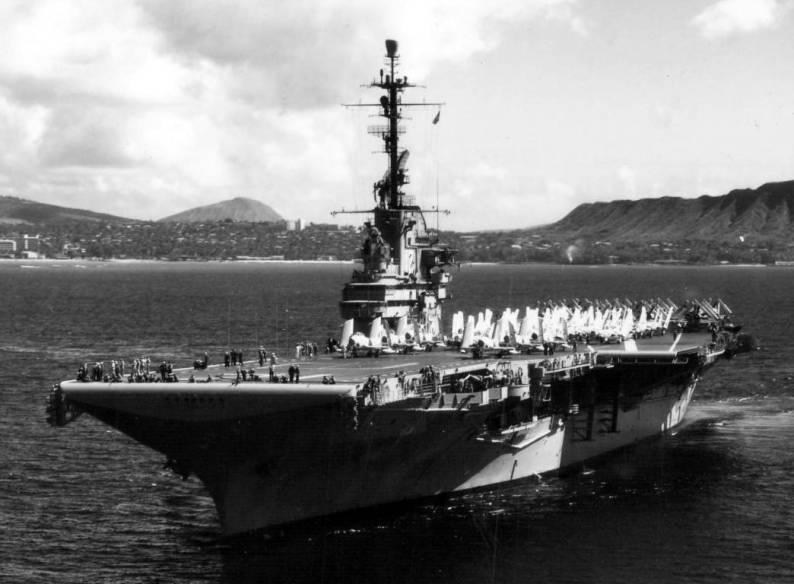 uss hornet cv cva cvs 12 essex class aircraft carrier us navy