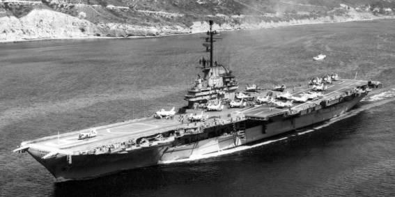 "U.S.N NAVY CV-16 USS Lexington /""The Blue Ghost/"" Aircraft carrier Military Patch"