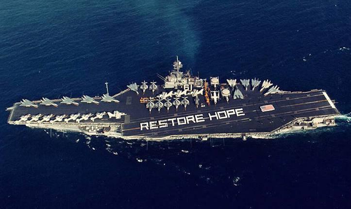 uss ranger cva cv 61 - aircraft carrier