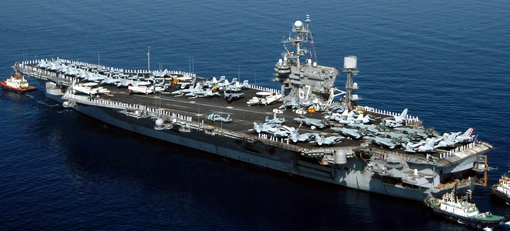 uss john f kennedy cv 67 aircraft carrier us navy