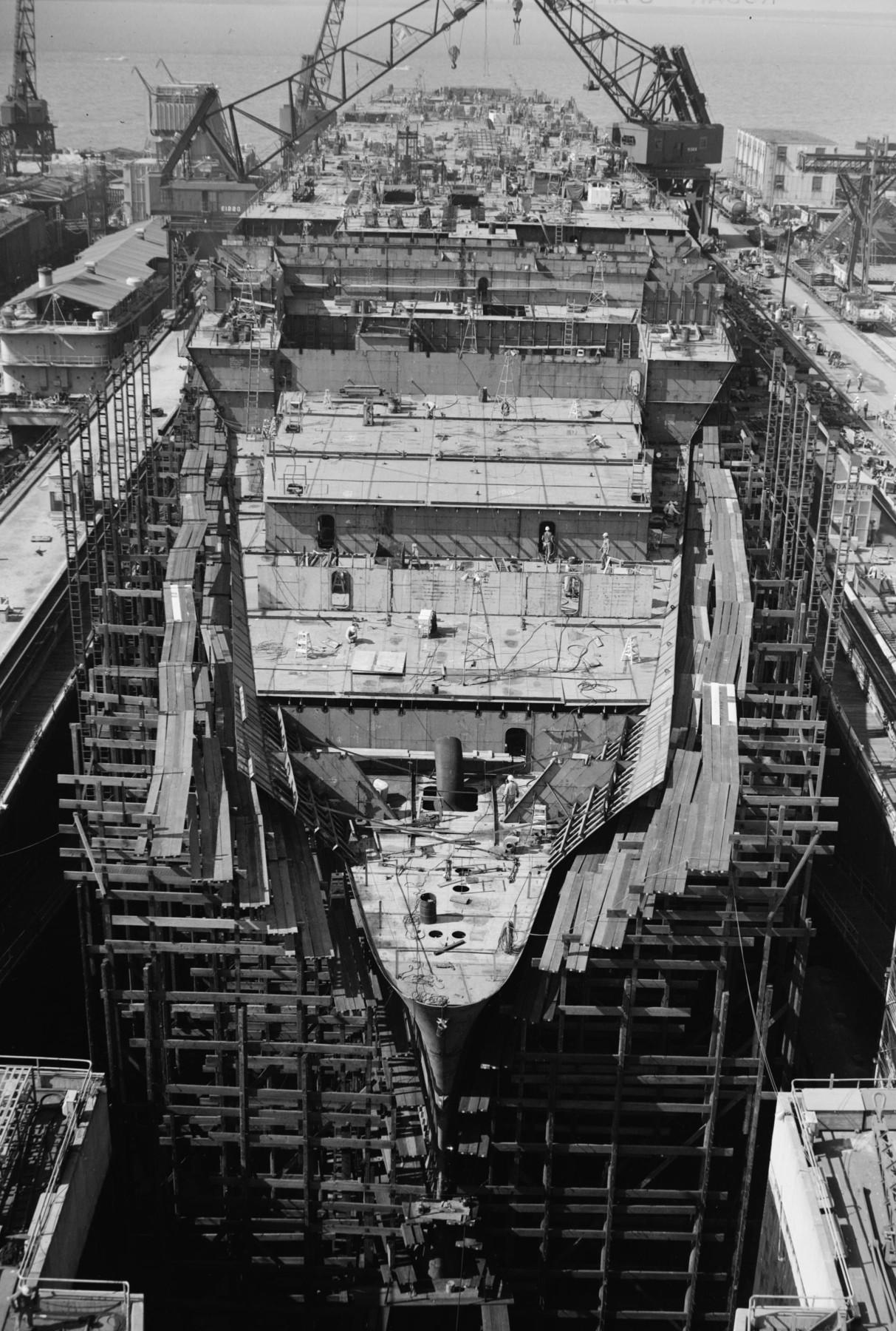 Aircraft Carrier Engine Room: USS John F. Kennedy CV-67 Aircraft Carrier US Navy