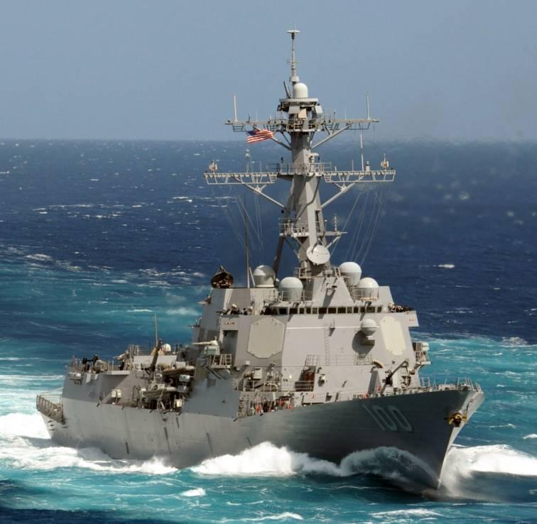 USS Kidd DDG 100 Arleigh Burke class guided missile ...