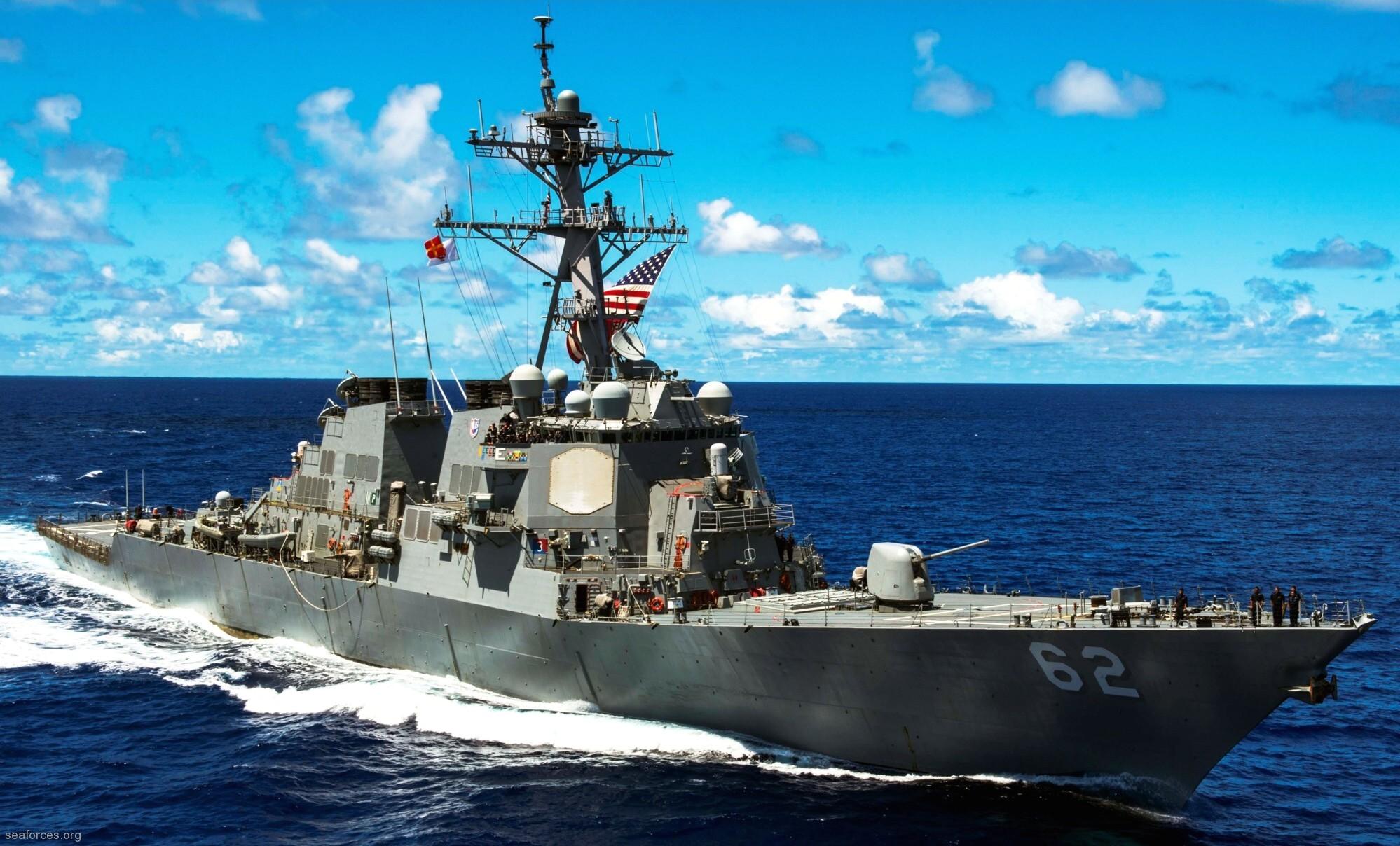 USS Fitzgerald DDG 62 Arleigh Burke class destroyer US Navy
