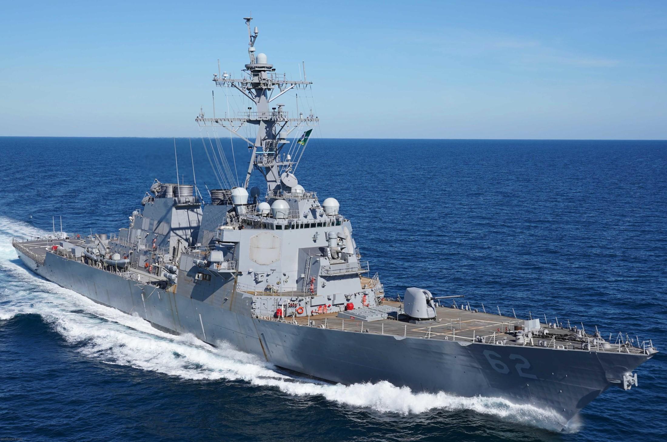 USS FITZGERALD DDG-62 HAT USN NAVY SHIP ARLEIGH BURKE CLASS DESTROYER COLLISION