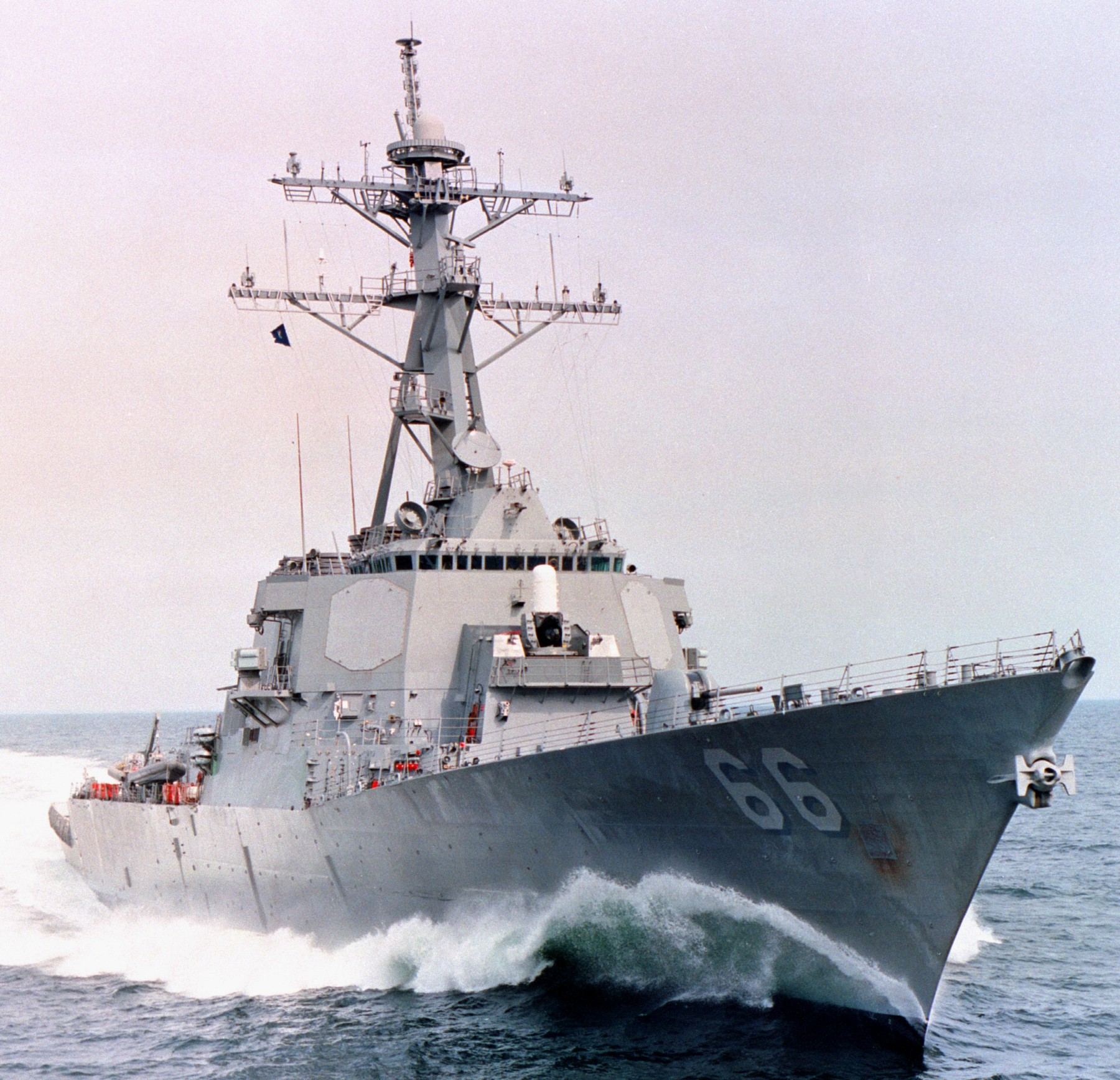 DDG 66 transits the Indian Ocean Guided-missile destroyer USS Gonzalez