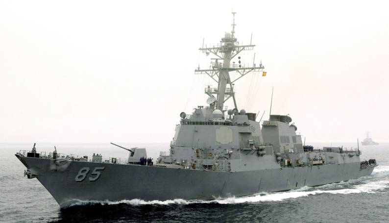 Uss Mccampbell Ddg 85 Arleigh Burke Class Guided Missile