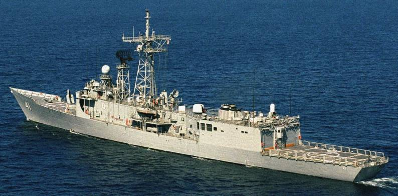 uss mcclusky ffg 41 guided missile frigate rear admiral