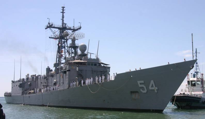 Uss Ford Ffg 54 Guided Missile Frigate Gunners Mate