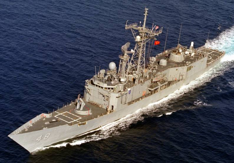 Ffg 7 Oliver Hazard Perry Class Guided Missile Frigate Us Navy