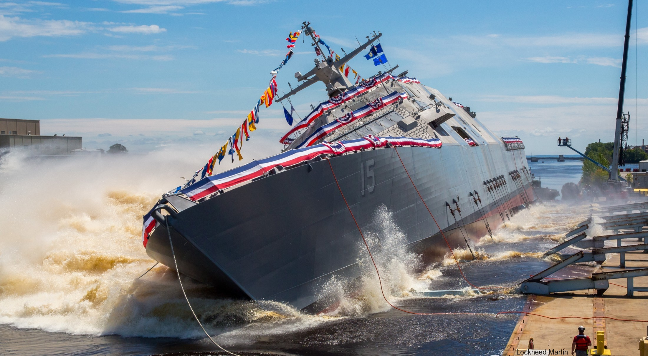 USS Billings LCS-15 Freedom class Littoral Combat Ship US Navy