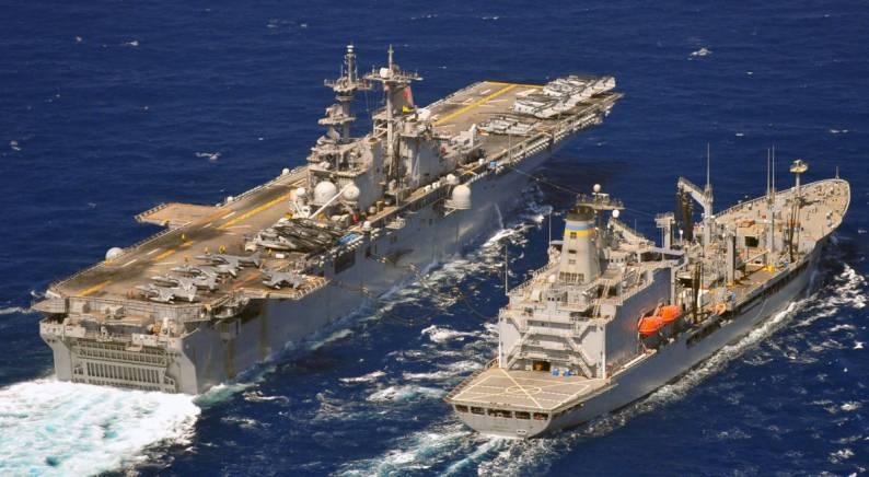 uss boxer lhd 4 wasp class amphibious assault ship multi