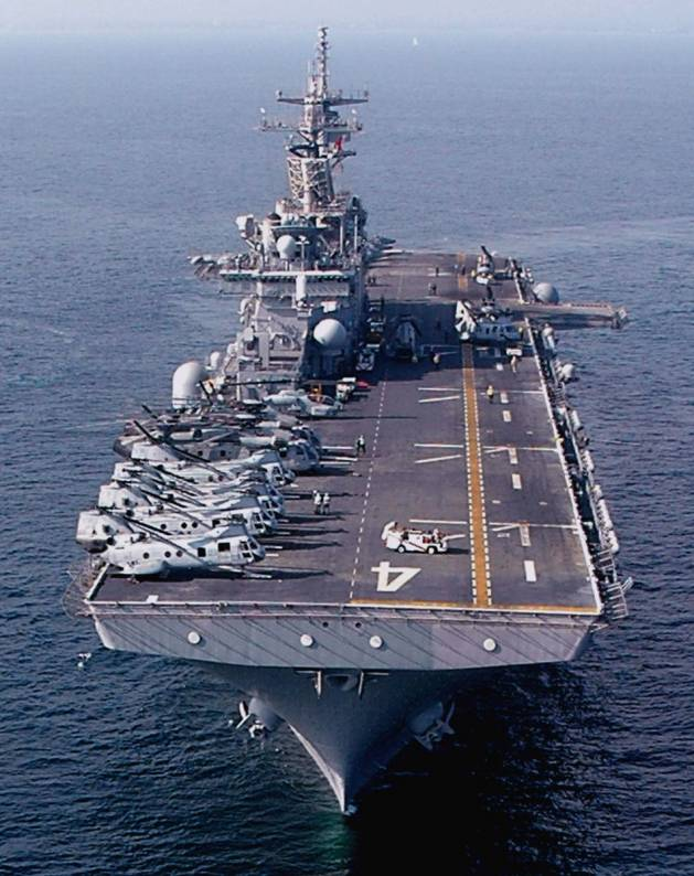uss boxer lhd 4 wasp class amphibious assault ship multi