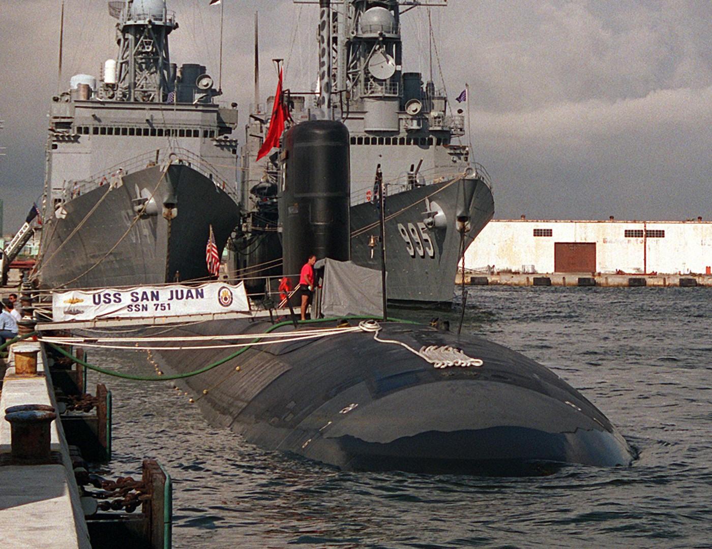 USS San Juan SSN-751 Los Angeles class attack submarine US ...