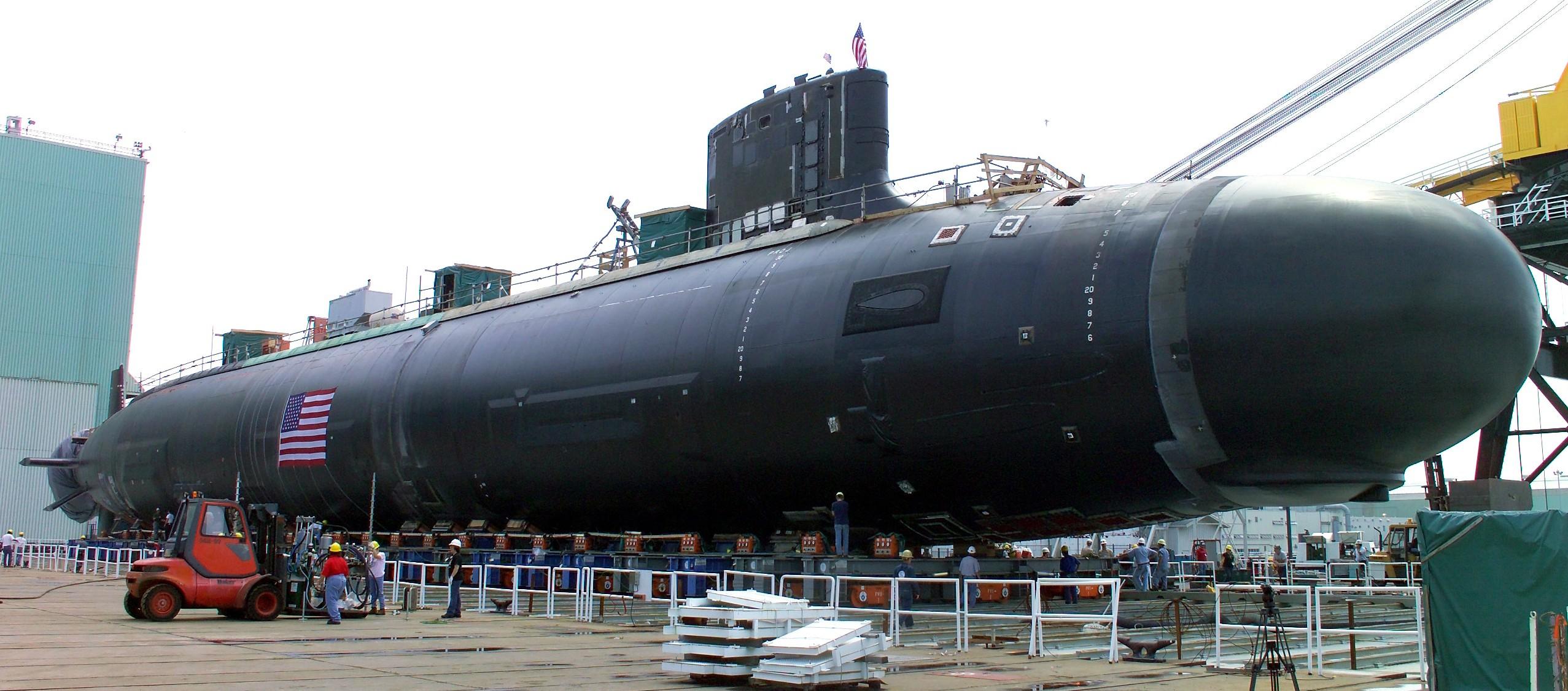 Virginia class Attack Submarine SSN 774 US Navy