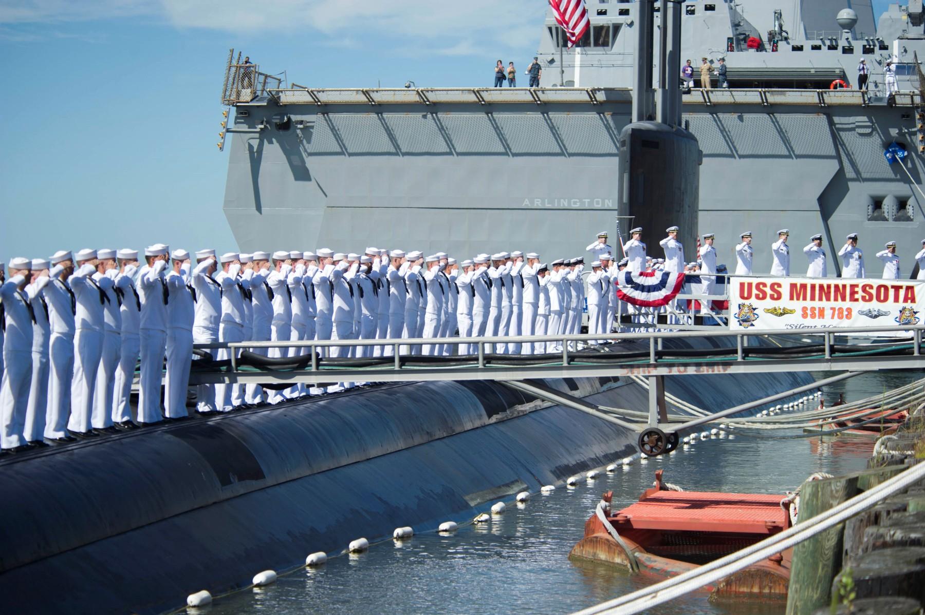 SSN-783 USS Minnesota Patch