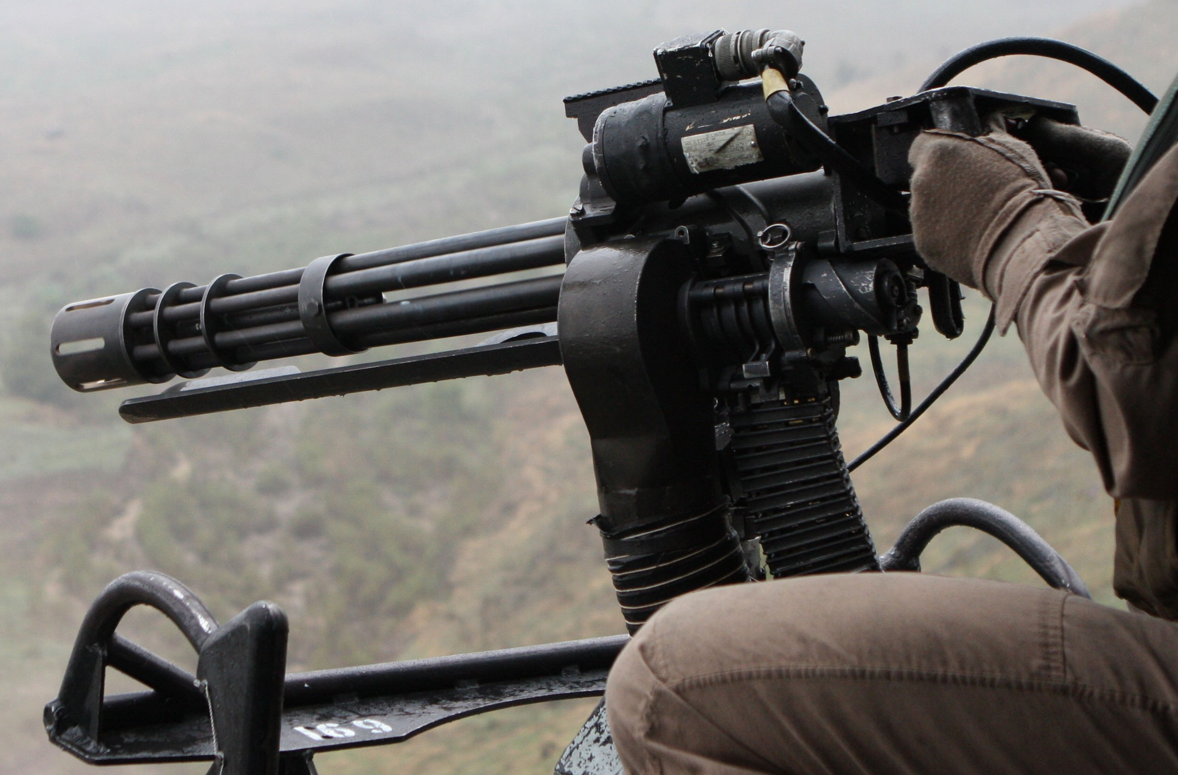 M134 Minigun Rotary Machine Gun System