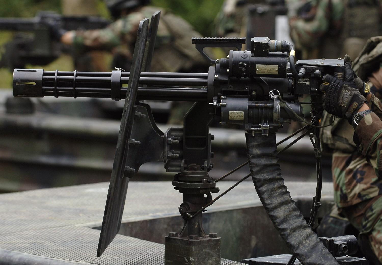 Minigun Bullet M134 Minigun ro...