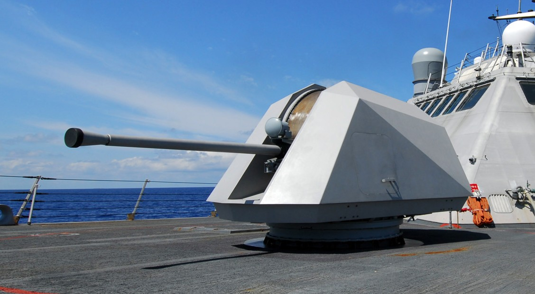 Mk-110 57mm 2.2 inches 70 caliber naval gun system LCS