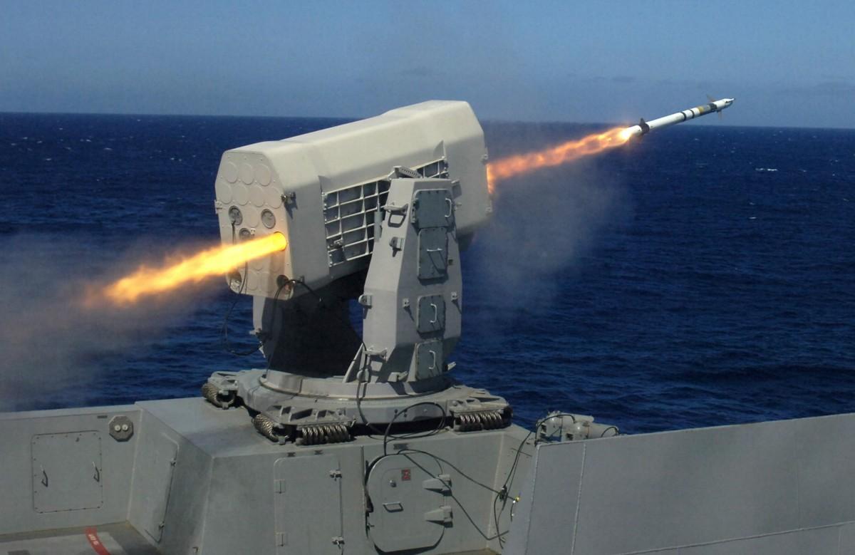 Resultado de imagen para Rolling Aircraft Missile RIM-116 Mk 49;